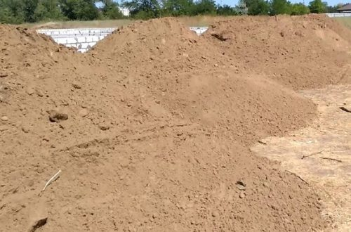 песок на подсыпку / природный